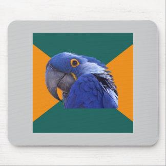 Animal paranoico Meme del consejo del pájaro del l Tapetes De Raton