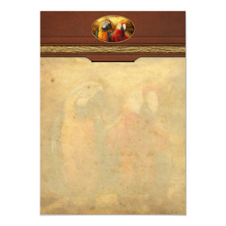 Animal - Parrot - Parrot-dise 5x7 Paper Invitation Card