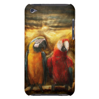 Animal - Parrot - Parrot-dise iPod Case-Mate Cases