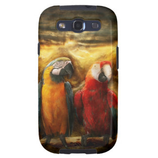 Animal - Parrot - Parrot-dise Galaxy SIII Cases