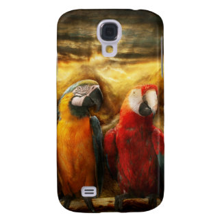 Animal - Parrot - Parrot-dise Galaxy S4 Cover