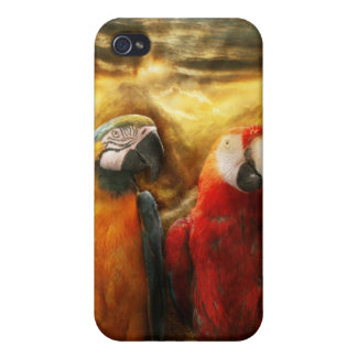 Animal - Parrot - Parrot-dise iPhone 4/4S Case