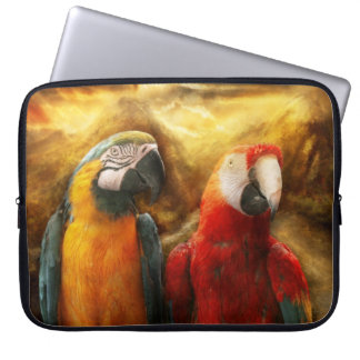 Animal - Parrot - Parrot-dise Laptop Computer Sleeves