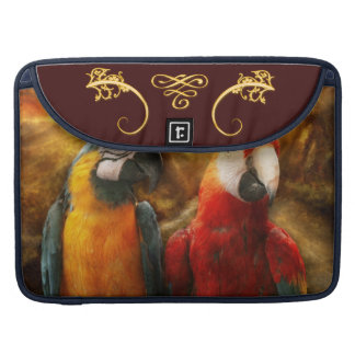 Animal - Parrot - Parrot-dise Sleeves For MacBook Pro