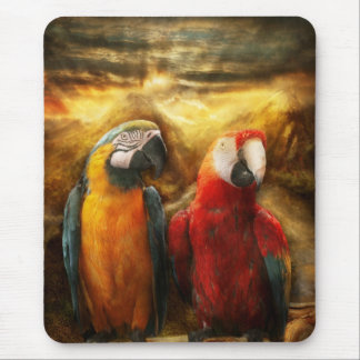 Animal - Parrot - Parrot-dise Mouse Pad