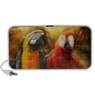 Animal - Parrot - Parrot-dise iPod Speakers