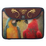 Animal - Parrot - We'll always have parrots Sleeves For MacBooks