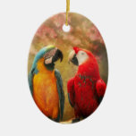 Animal - Parrot - We'll always have parrots Christmas Ornament