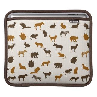 Animal pattern 1 iPad sleeve