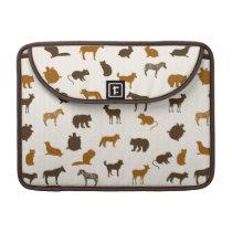 Animal pattern 1 MacBook pro sleeve