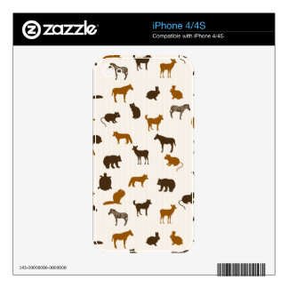 Animal pattern 1 skin for the iPhone 4S