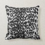 Animal pattern, awesome, black, white pillows