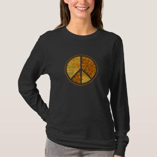 Animal Pattern Peace T-Shirt