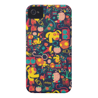 Animal Patterns Aleloop iPhone Case iPhone 4 Cover