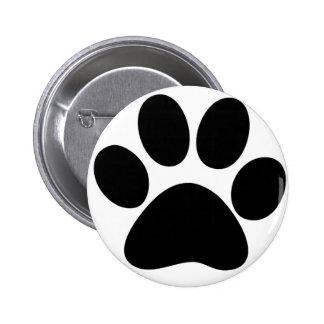 Animal Paw 2 Inch Round Button