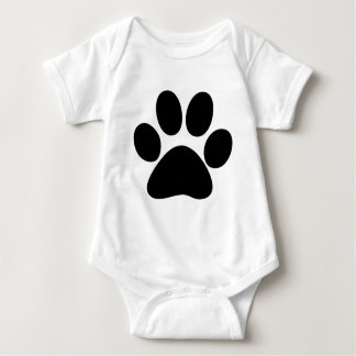 Animal Paw Baby Bodysuit