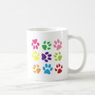 animal paw  design coffee mug