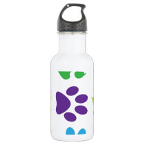 animal paw  design water bottle