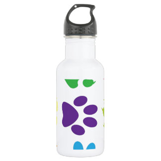 animal paw  design water bottle