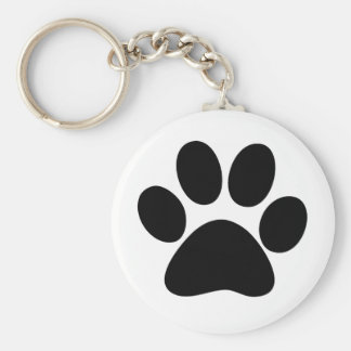 Animal Paw Keychain