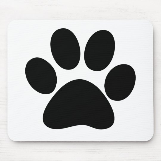 Animal Paw Mouse Pad