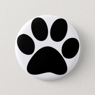 Animal Paw Pinback Button