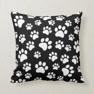 Animal paw print  customizable pillow