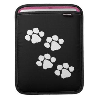 Pets Paw Prints iPad Sleeves