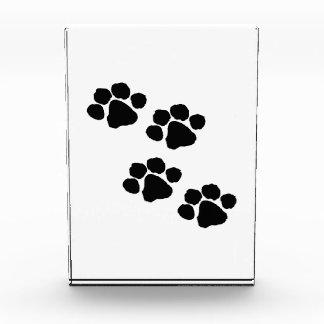 Animal Paw Prints Award