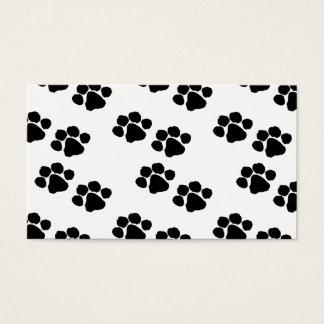 Animal Paw Prints Business Card