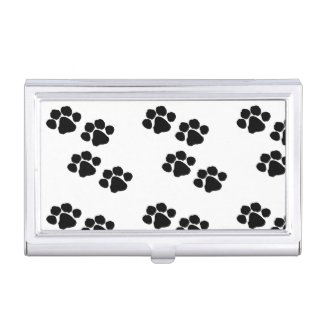 Animal Pet Paw Prints Business Card Cases