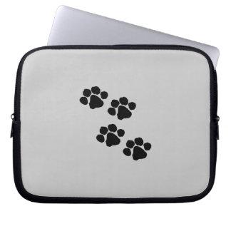 Animal Paw Prints Computer Sleeve