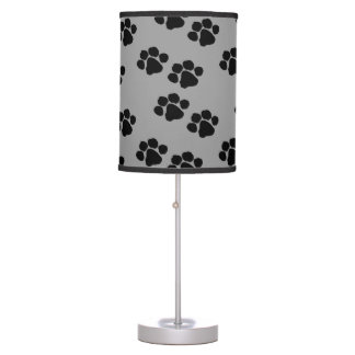 Animal Paw Prints Desk Lamp