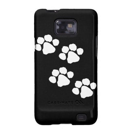 Animal Paw Prints Galaxy SII Case