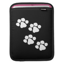 Animal Paw Prints iPad Sleeve