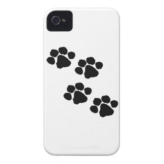 Animal Paw Prints iPhone 4 Case-Mate Case
