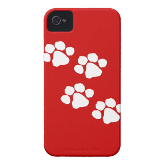 Animal Paw Prints iPhone 4 Case-Mate Cases