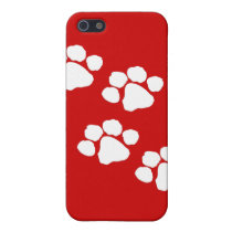 Animal Paw Prints iPhone SE/5/5s Cover