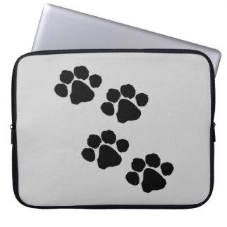 Animal Paw Prints Computer Sleeves