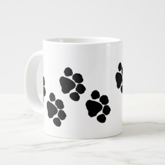 Animal Paw Prints Large Coffee Mug