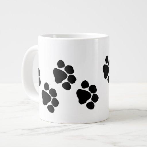 Animal Paw Prints Large Coffee Mug Zazzle