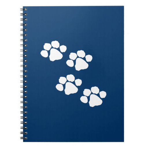 Animal Paw Prints Notebook