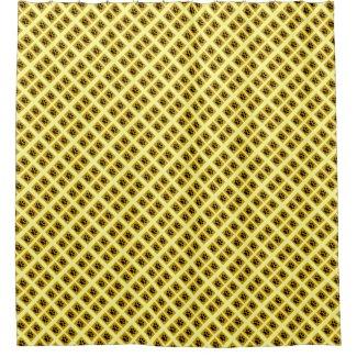 Animal Paw Prints Pattern Shower Curtain