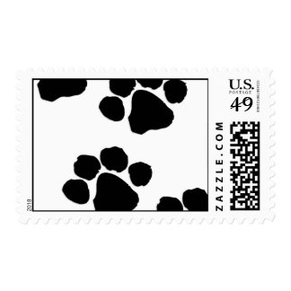 Animal Paw Prints Postage