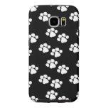 Animal Paw Prints Samsung Galaxy S6 Cases