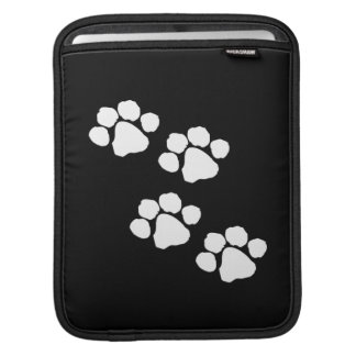 Animal Paw Prints Sleeve For iPads