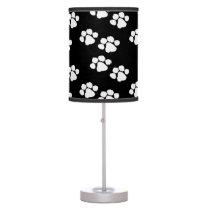 Animal Paw Prints Table Lamp
