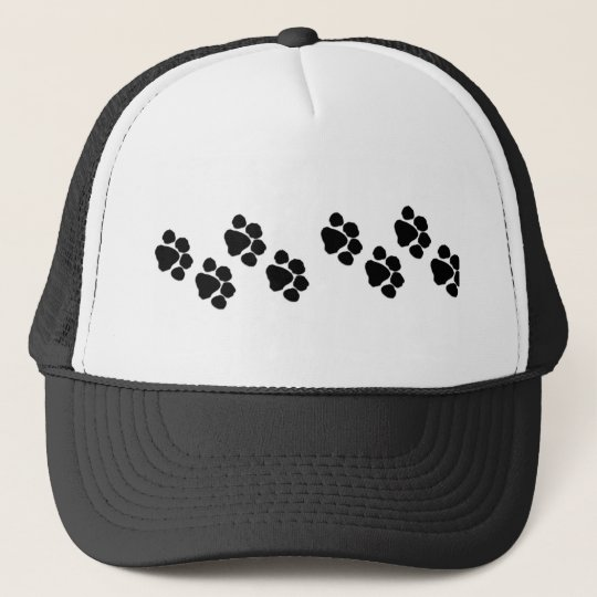Animal Paw Prints Trucker Hat