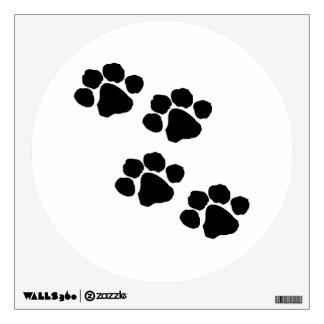 Animal Paw Prints Wall Sticker