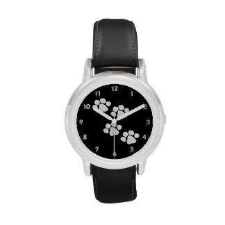 Animal Paw Prints Wrist Watches